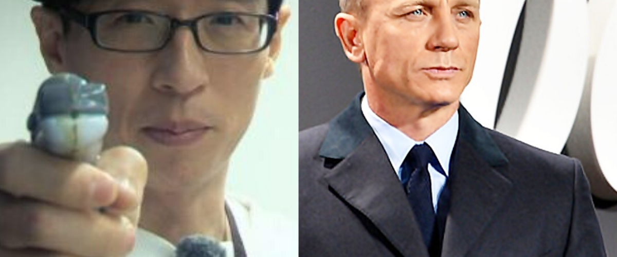 Daniel Craig and Yu Jae Suk